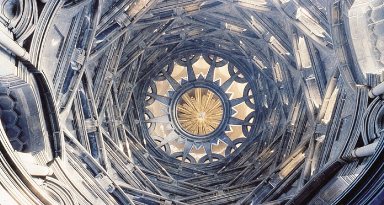 La cupola del Duomo di Torino, sotto la quale si incontrarono i due musicisti