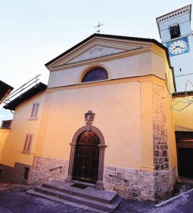 La chiesa parrocchiale di Barzizza: giorni di festa nella frazione