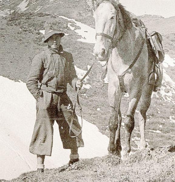 Giovanni Brasi, comandante della 53a Brigata Garibaldi,