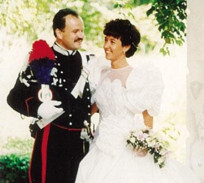 Le nozze con Marisa: ora si trasferiranno in Veneto