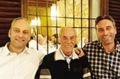 Roberto, Mario e Fabio Savoldelli
