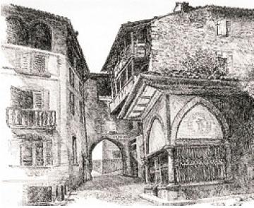 La ricostruzione della Porta di Cima Rapa