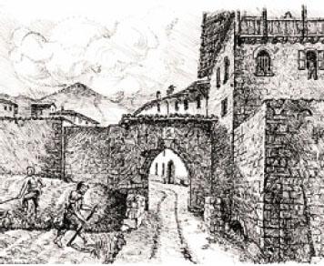 Porta Puteo è stata demolita a metà del 1800