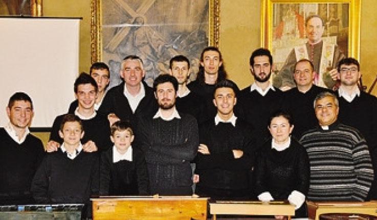 I protagonisti della serata in ricordo di Lorenzo Anesa a Gandino