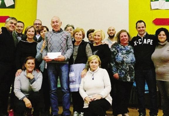 Gli organizzatori dell'Amatriciana solidale a Cirano