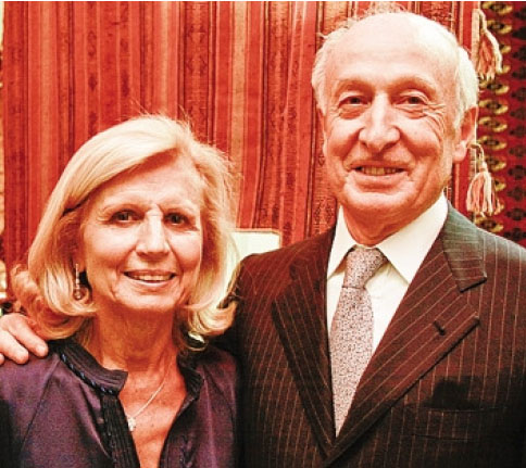 Annamaria Colombelli con il marito Miro Radici