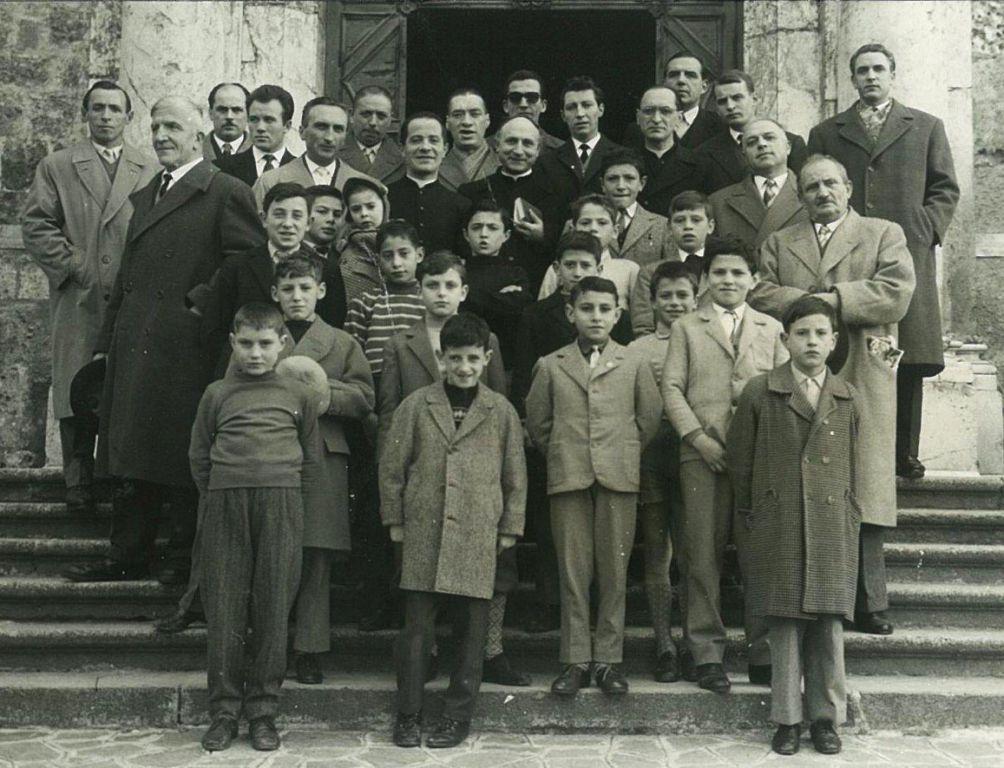 La corale Guido d'Arezzo del 1960