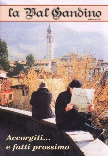 Copertina di Febbraio 2001