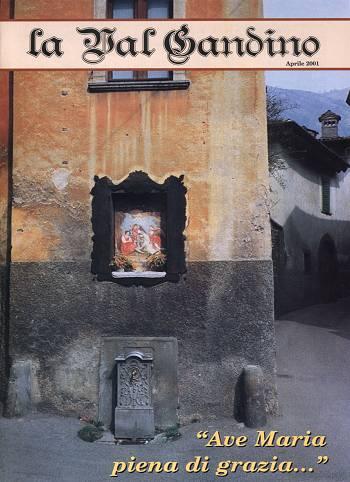 Copertina di Aprile 2001