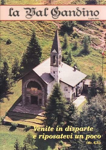 Copertina di Luglio 2001