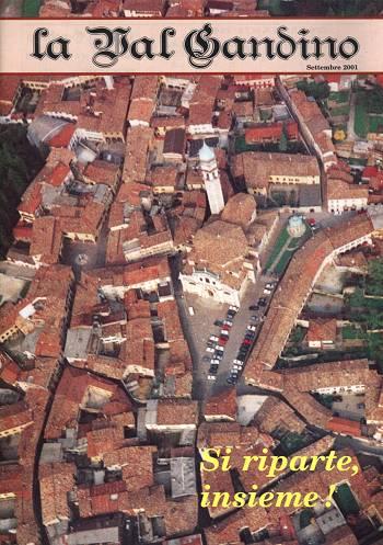 Copertina di Settembre 2001