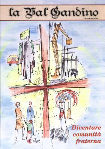 Copertina di Novembre 2001