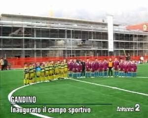 Inaugurato il campo sportivo