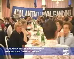 "L'Atalanta Club Valgandino assegna il premio ""Bravo papà"""