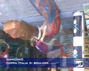 Coppa italia di boulder a Gandino