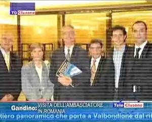 Visita dell'ambasciatore in Italia di Romania e Repubblica Moldova
