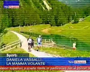 Daniela Vassalli, la mamma volante