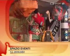La seconda tappa del campionato italiano di boulder
