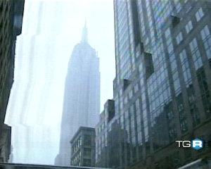 Vassalli come un fulmine sull'Empire State Building