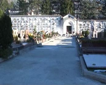 Lavori di riqualificazione al cimitero