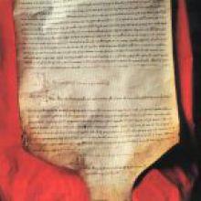 Atto di emancipazione firmato nel 1233