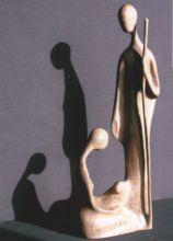 Uno dei numerosi presepi esposti presso il Museo