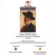 La copertina del catalogo realizzato in occasione del Premio di pittura