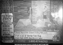 Sugli schermi della televisione americana la televendita dei tappeti del gruppo Radici