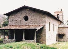 La chiesa dedicata a San Lorenzo a Gandino