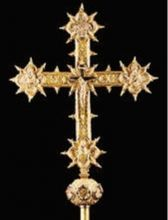 La croce esposta a Milano