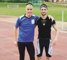 I due sfidanti 2015: Marco Piazzalunga (a sinistra) e Alessandro Noris