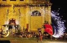 La rievocazione storica in piazza