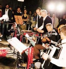 Il gruppo musicale dei Rataplam di Mapello