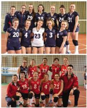 Mini Allieve. Pallavolo Gandino e Volley Gazzaniga