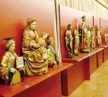 Sculture lignee dei secoli XV e XVI al Museo della Basilica di Gandino