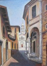 Uno dei quadri di Mario Bosio