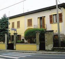 La caserma dei carabinieri di Gandino in via San Giovanni Bosco