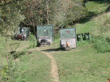 Il campo di tiro
